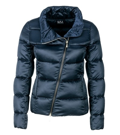 EMPORIO ARMANI EA7 5A344 Damen Women Jacke Daunen Jacket Warm Navy  Dunkelblau 8adc6c4c6b