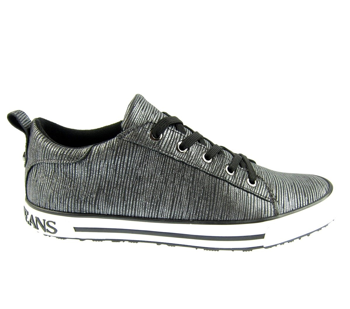 ARMANI JEANS 6AHOC Damen Women Sneaker Schuhe Shoes Anthrazit Click to zoom  ... b1a3524021