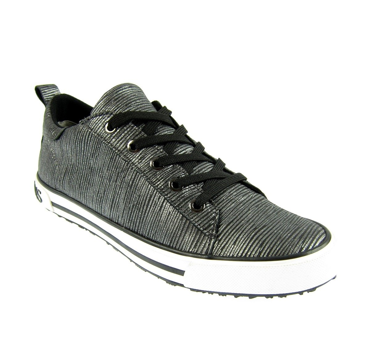 ... ARMANI JEANS 6AHOC Damen Women Sneaker Schuhe Shoes Anthrazit Click to  zoom ... 249a3190de
