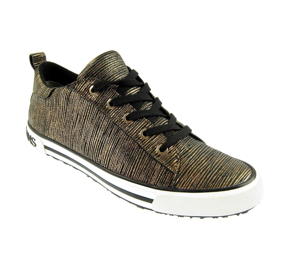 fe026bc485b9 ... ARMANI JEANS 925907 Damen Women Sneaker Schuhe Shoes Gold Rust Brown  Click to zoom ...