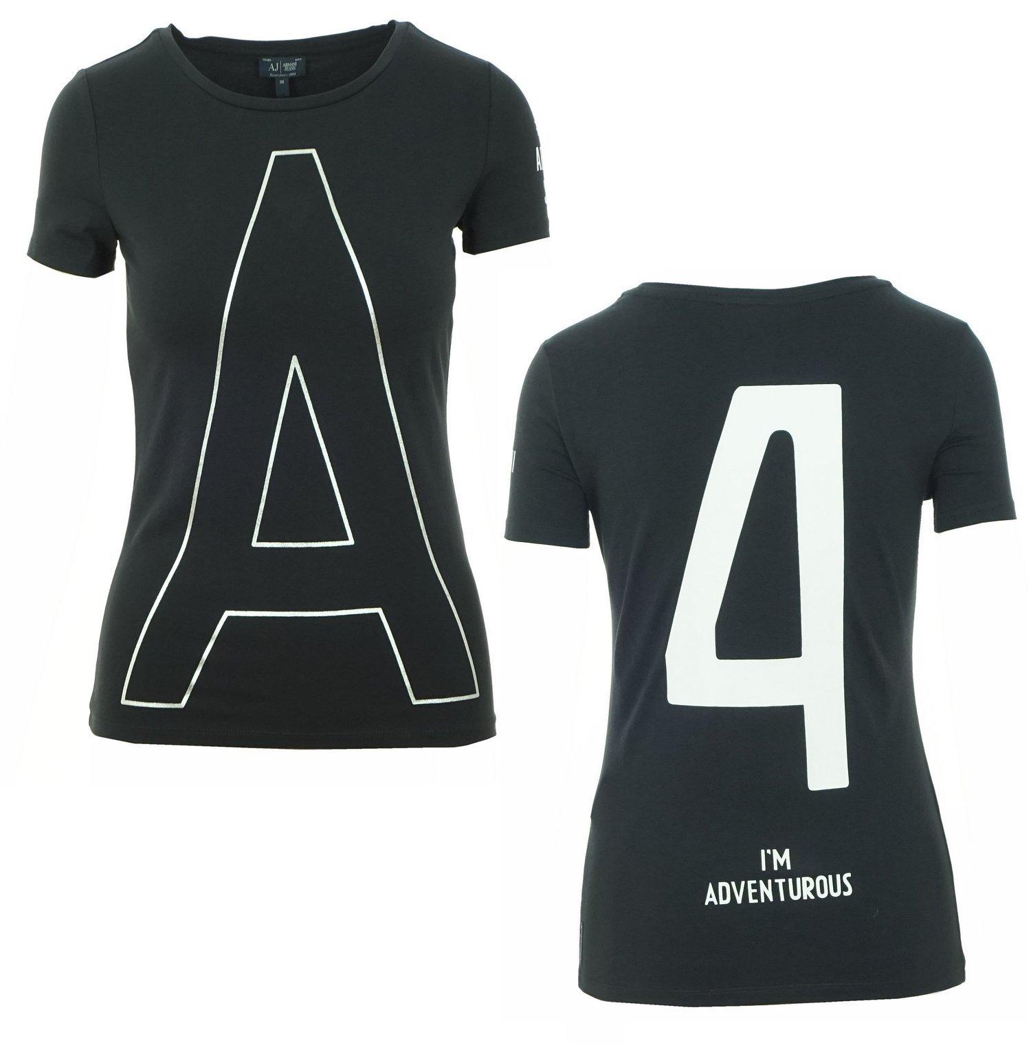 EA7 Damen T-Shirt  T-Shirt dunkelblau NEU