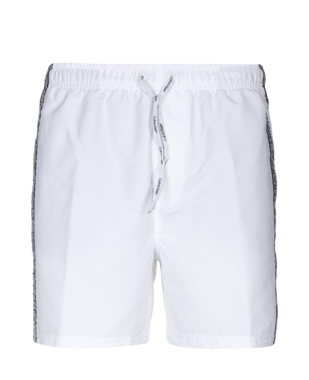 b9ab29779a4082 ... Herren Men Badeshorts Badehose Beachwear Weiß White Click to zoom ...