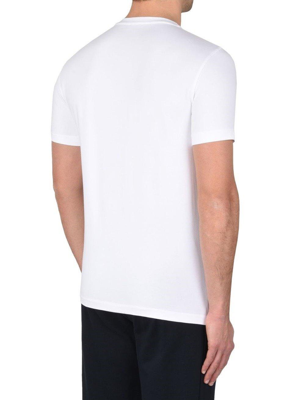 3e66892c0c ... EMPORIO ARMANI EA7 3YPTL7 Herren Men T-Shirt Kurzarm Figurbetont Weiß  Click to zoom ...