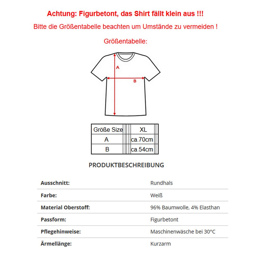 22a518a95f ... EMPORIO ARMANI EA7 3YPTL7 Herren Men T-Shirt Kurzarm Figurbetont Weiß  Click to zoom