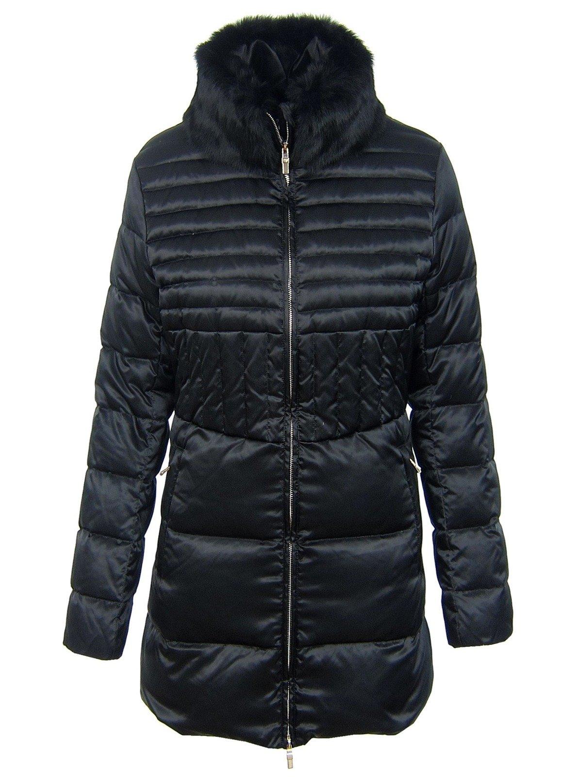 Armani mantel damen schwarz