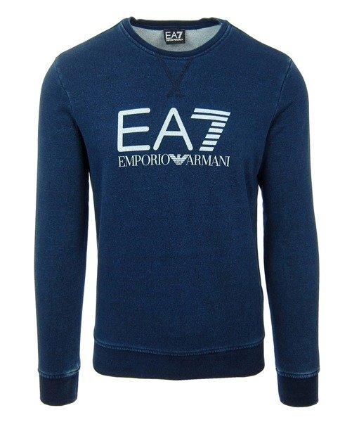 EMPORIO ARMANI EA7 6P605 Herren Men Pullover Sweat Sweatshirt Navy Blau  Click to zoom ...