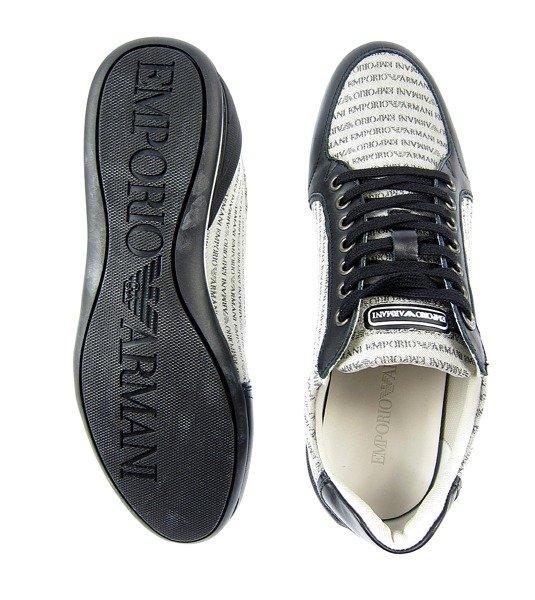 emporio armani x4x049 herren men schuhe shoes sneaker logo. Black Bedroom Furniture Sets. Home Design Ideas