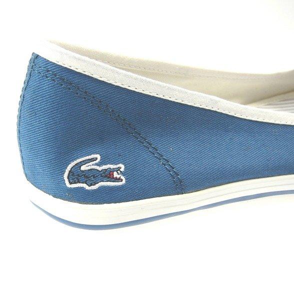new arrivals 13aec 92ffc LACOSTE Marthe Paris Srw Damen Women Schuhe Shoes Ballerinas Sneaker Blau  Blue