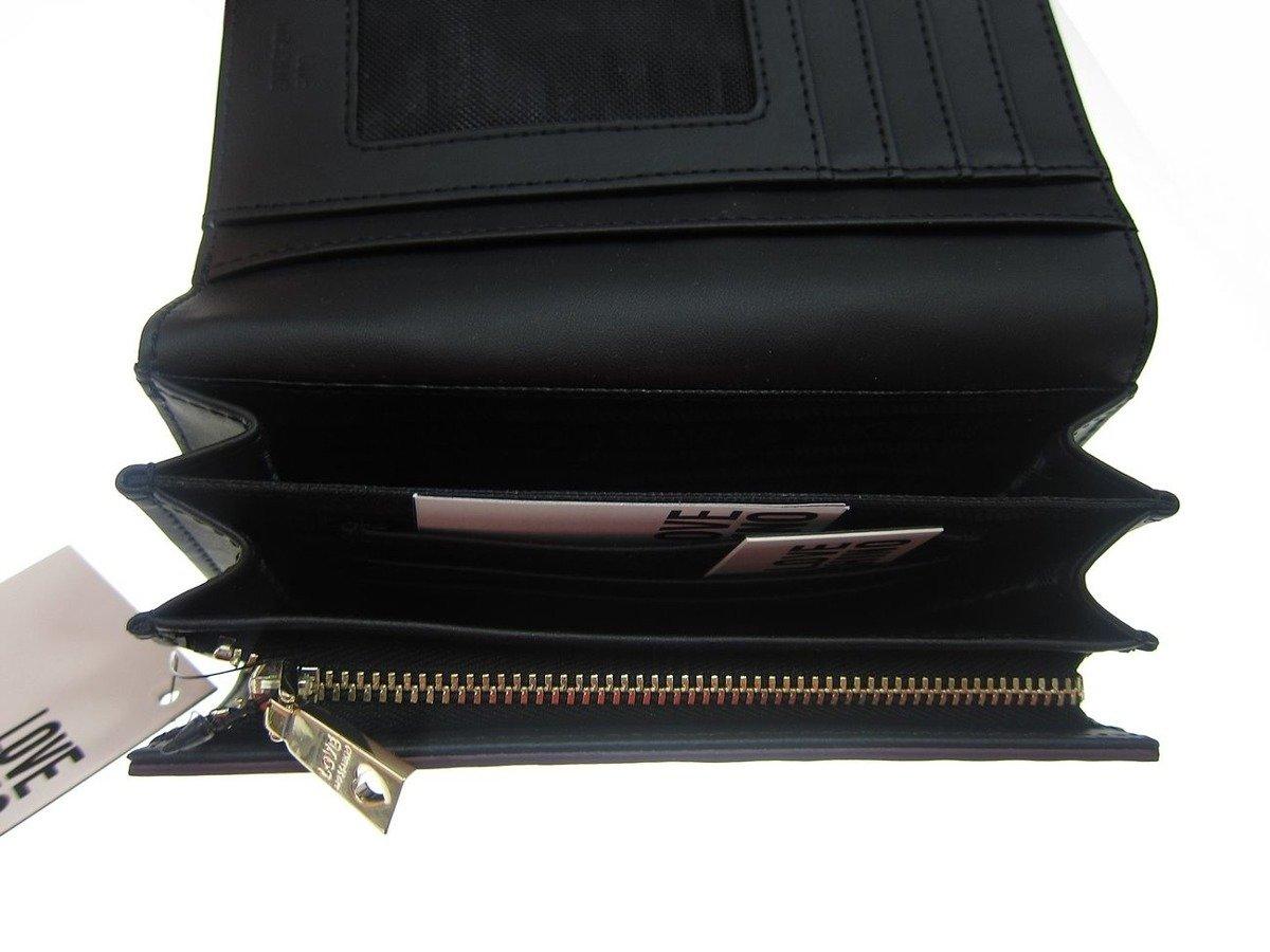 love moschino damen women donna geldb rse wallet portemonnaie bifold damen women. Black Bedroom Furniture Sets. Home Design Ideas