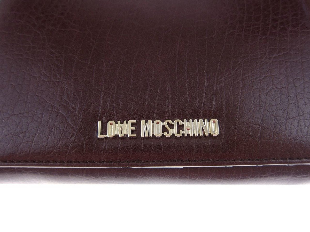 love moschino damen women donna geldb rse wallet portemonnaie bifold damen women. Black Bedroom Furniture Sets. Home Design Ideas