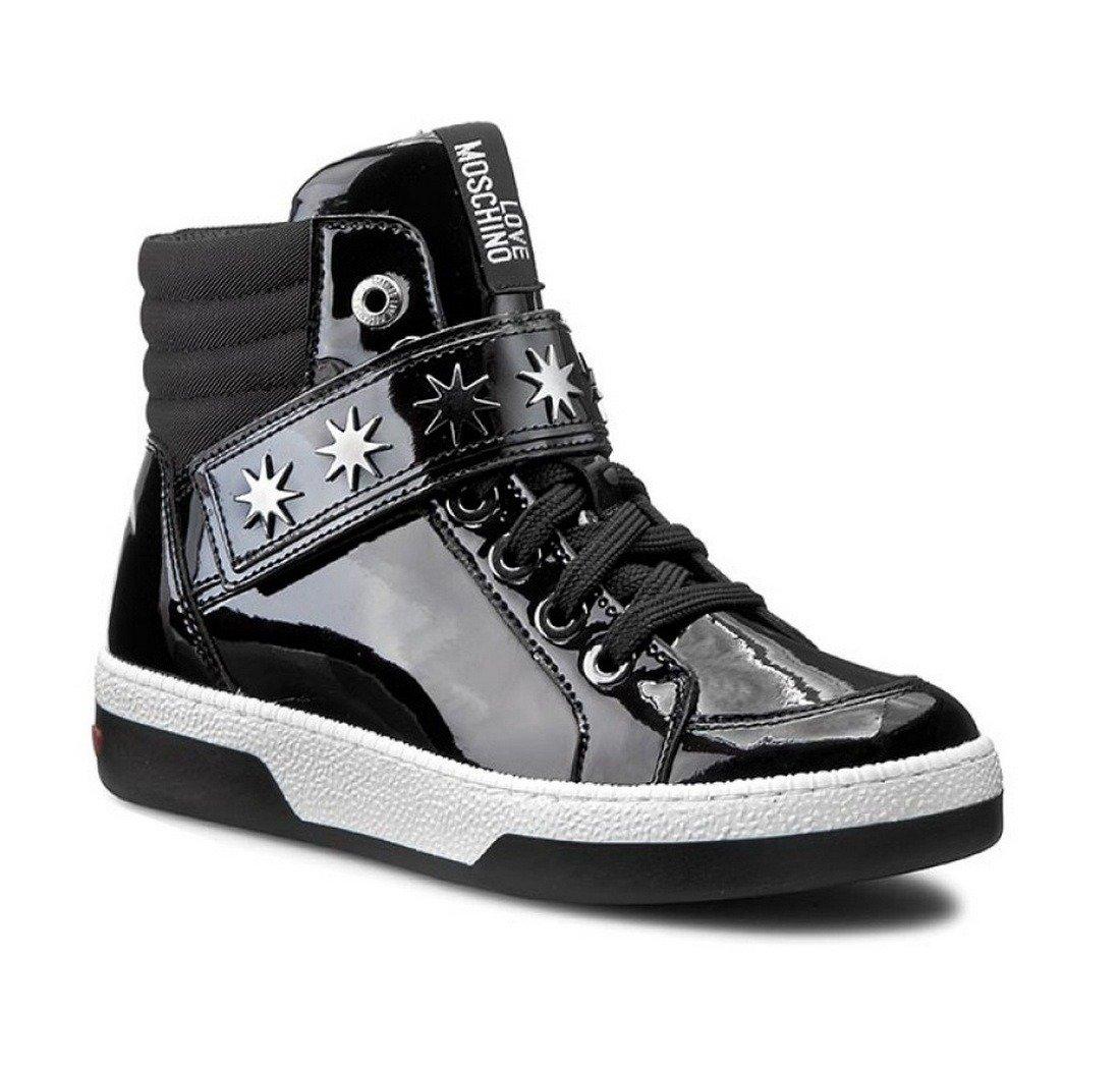 cheap for discount ac466 55c41 LOVE MOSCHINO JA15153G00JDA000 Damen Women Schuhe Shoes High Top Sneaker  Boots
