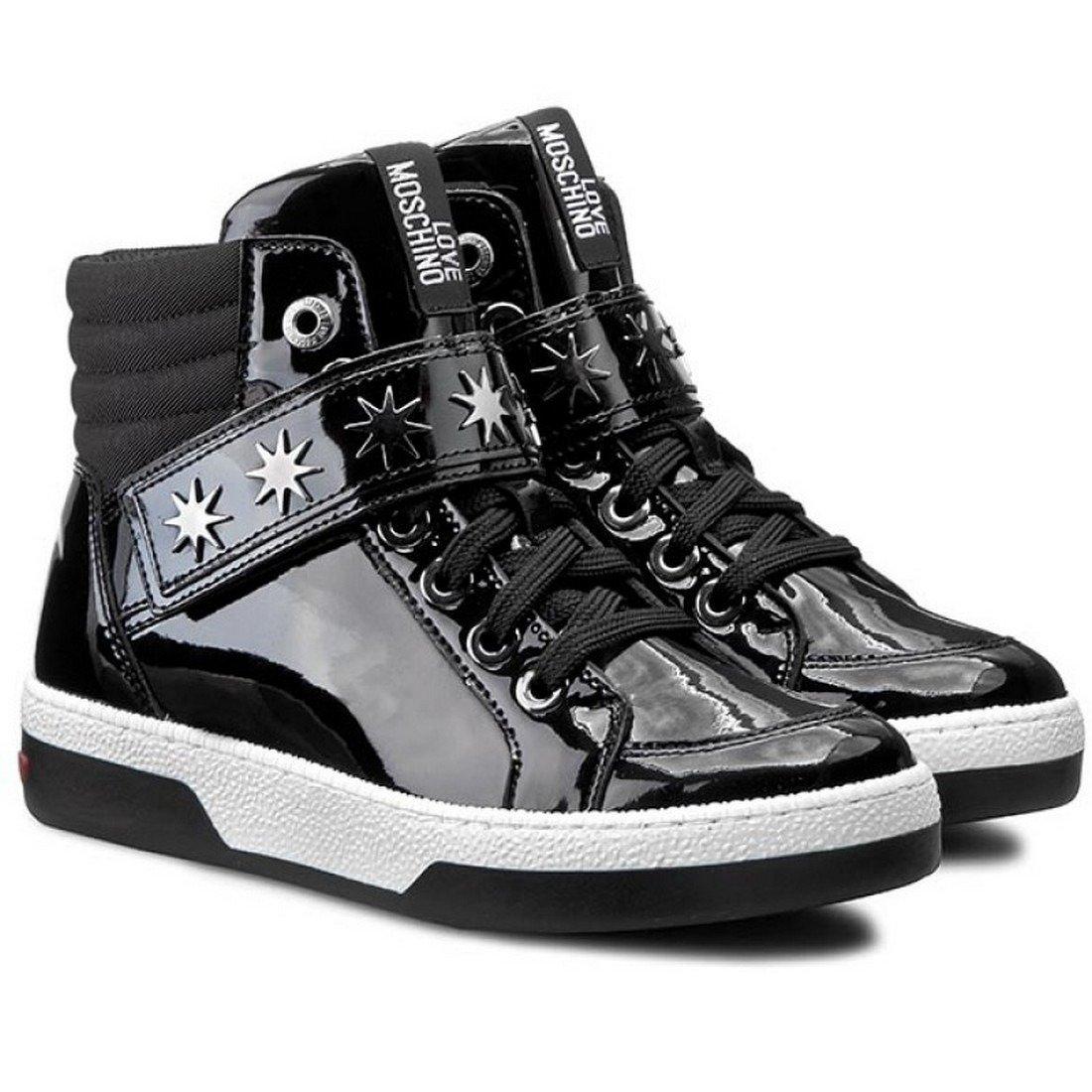 LOVE MOSCHINO JA15153G00JDA000 Damen Women Schuhe Shoes High Top Sneaker Boots