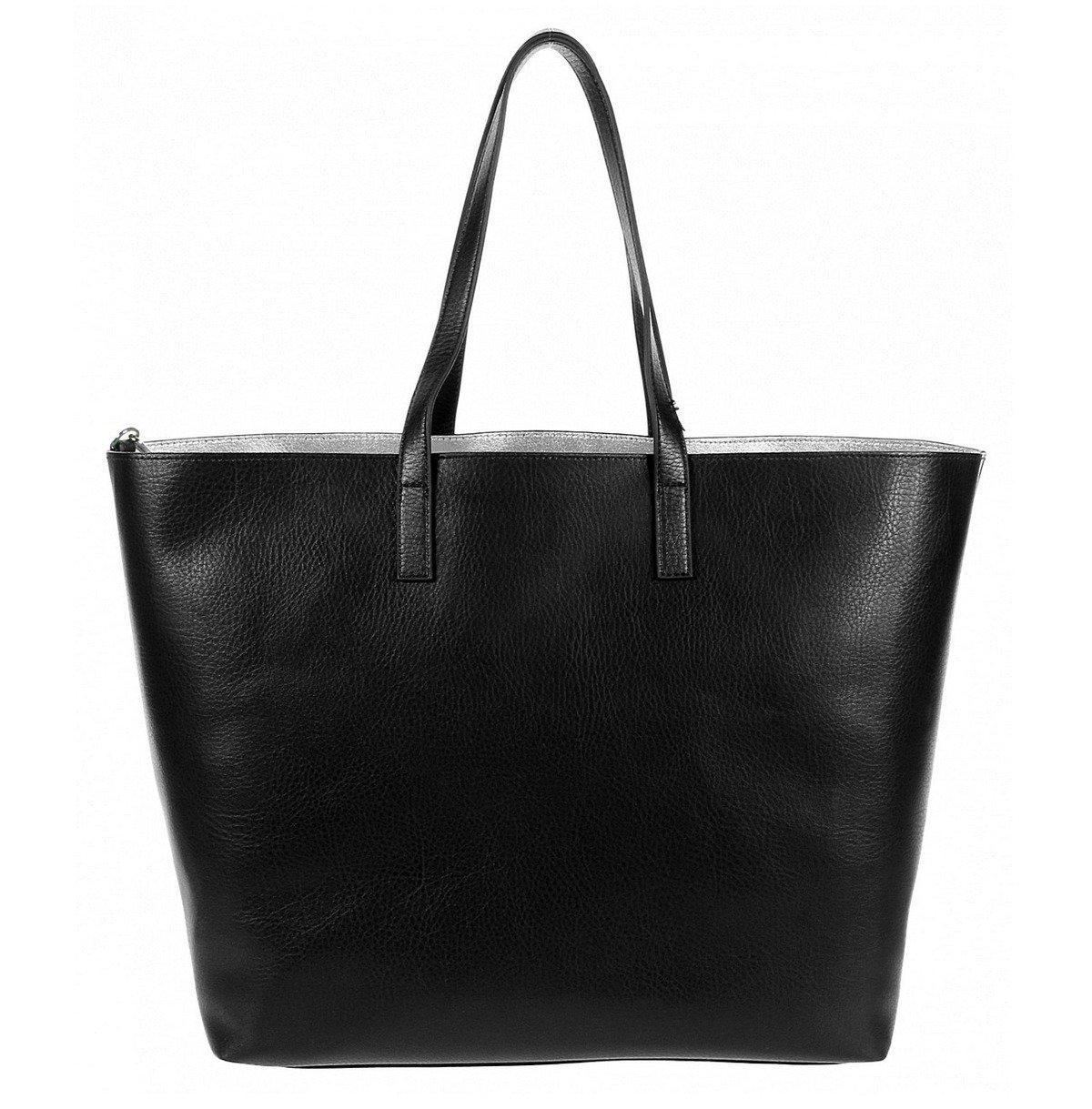 love moschino jc4308pp01kt0000 damen women shopper bag tasche purse schwarz schwarz damen. Black Bedroom Furniture Sets. Home Design Ideas