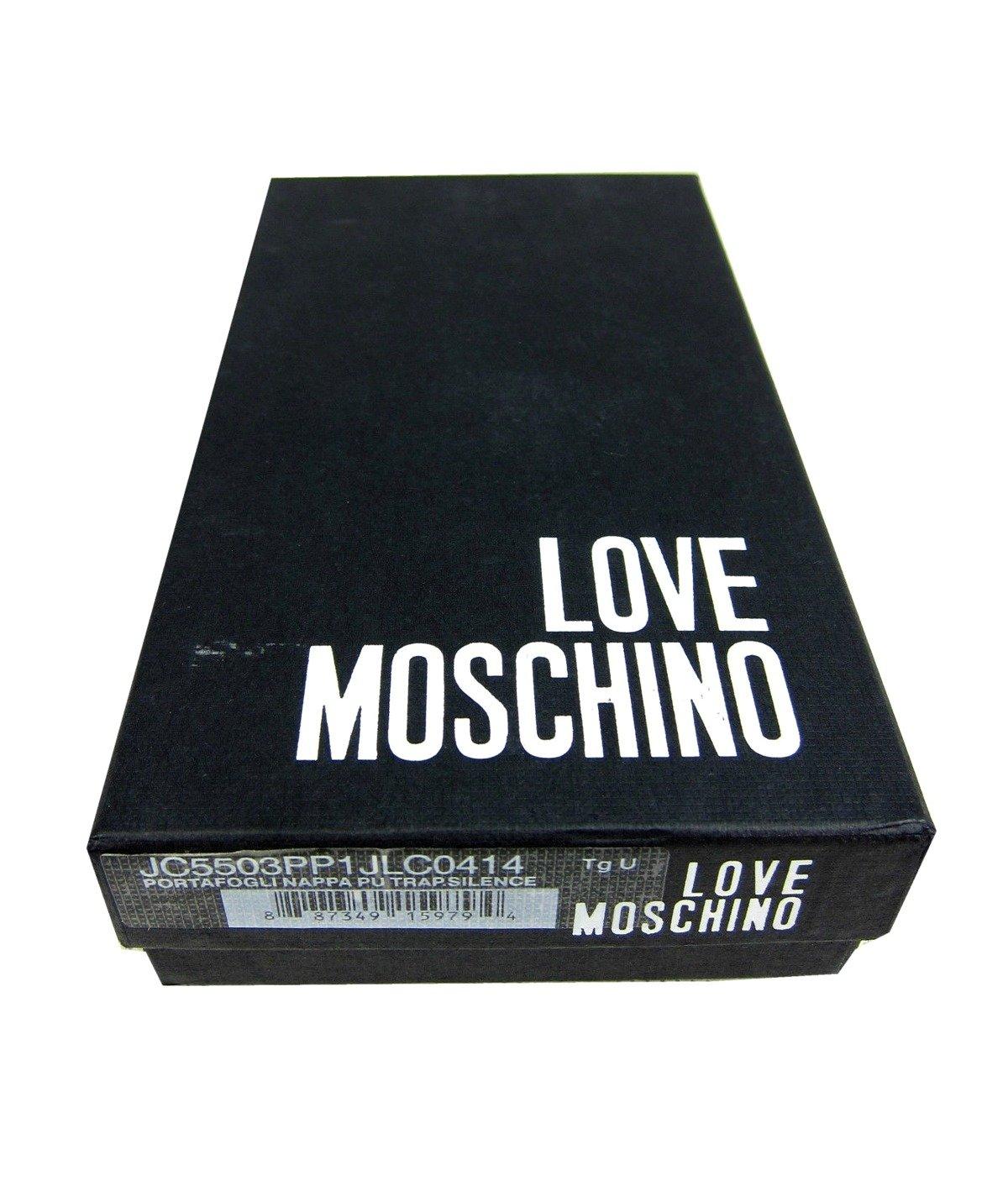 love moschino jc5503pp1jlc0414 damen women geldb rse portemonnaie wristlet beige damen women. Black Bedroom Furniture Sets. Home Design Ideas