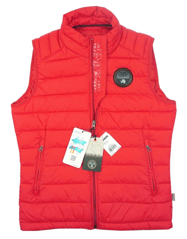 uk billig verkaufen auf Lager bieten Rabatte NAPAPIJRI Abee Vest Herren Men Weste Gilet Rot Red