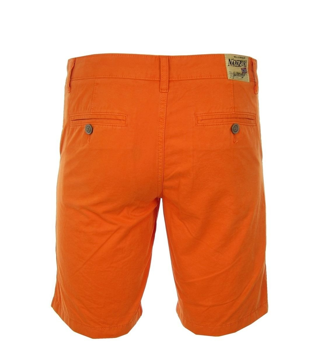 wholesale dealer 6ac30 a6799 NAPAPIJRI Nayerou Herren Men Shorts Kurz Hose Chino Bermuda Orange Neu New  Logo