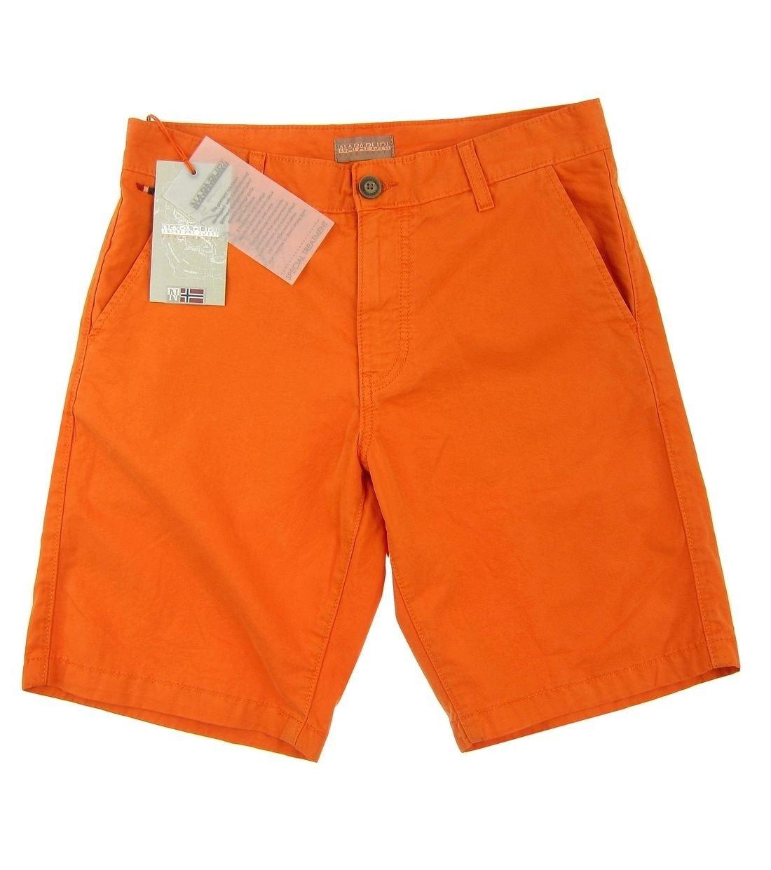 Click to zoom · NAPAPIJRI Nayerou Herren Men Shorts Kurz Hose Chino Bermuda  Orange Neu New Logo 4a05a3a759