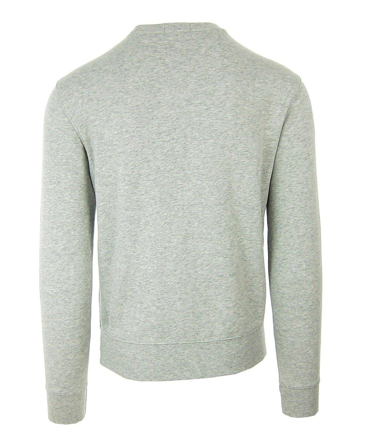 low priced 2dbf7 6dea2 Polo RALPH LAUREN Herren Men Sweatshirt Pullover Sweater Grau Grey Logo