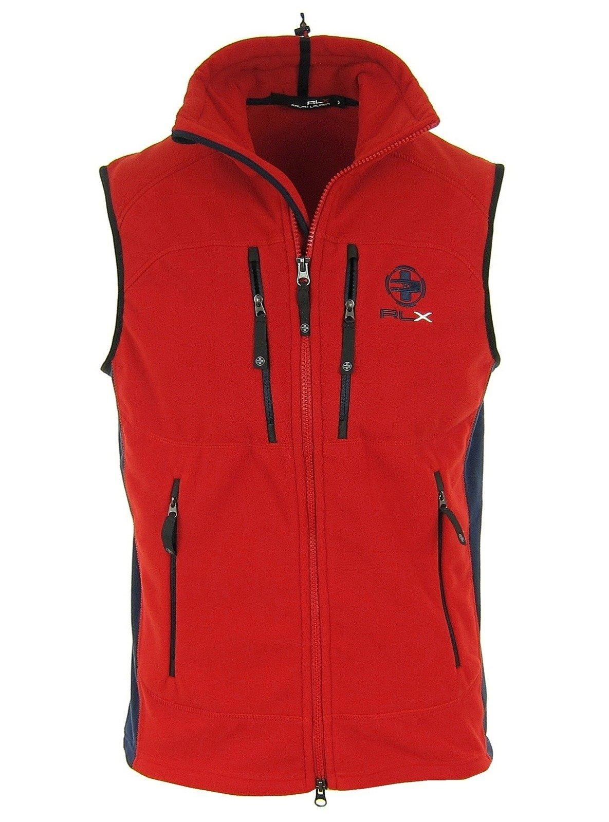 The North Face Westen >> RALPH LAUREN RLX Herren Men Weste Vest Bodywarmer Gilet Rot Red Fleece | HERREN - MEN \ Westen ...
