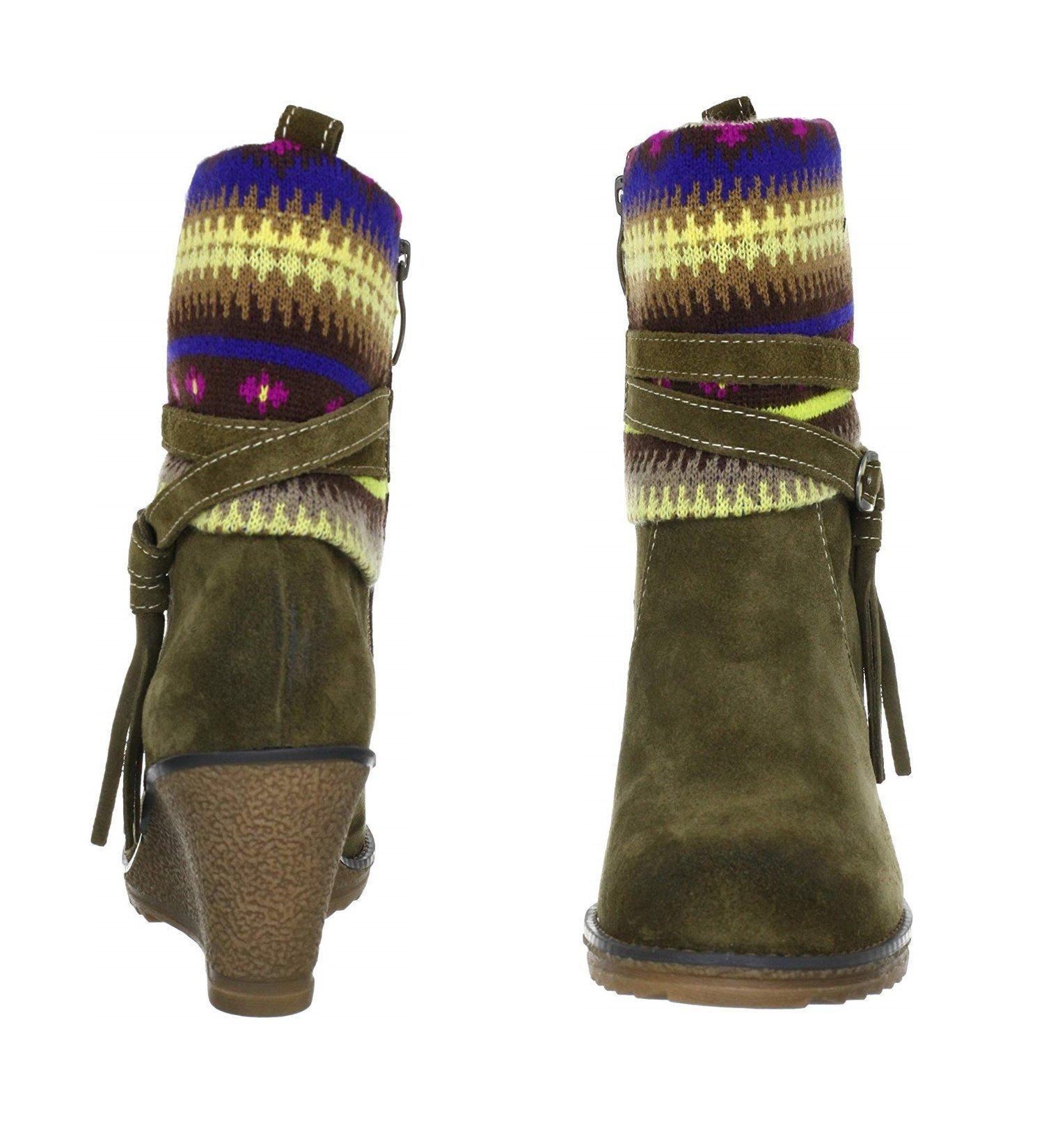 TAMARIS Damen Boots rotbraun