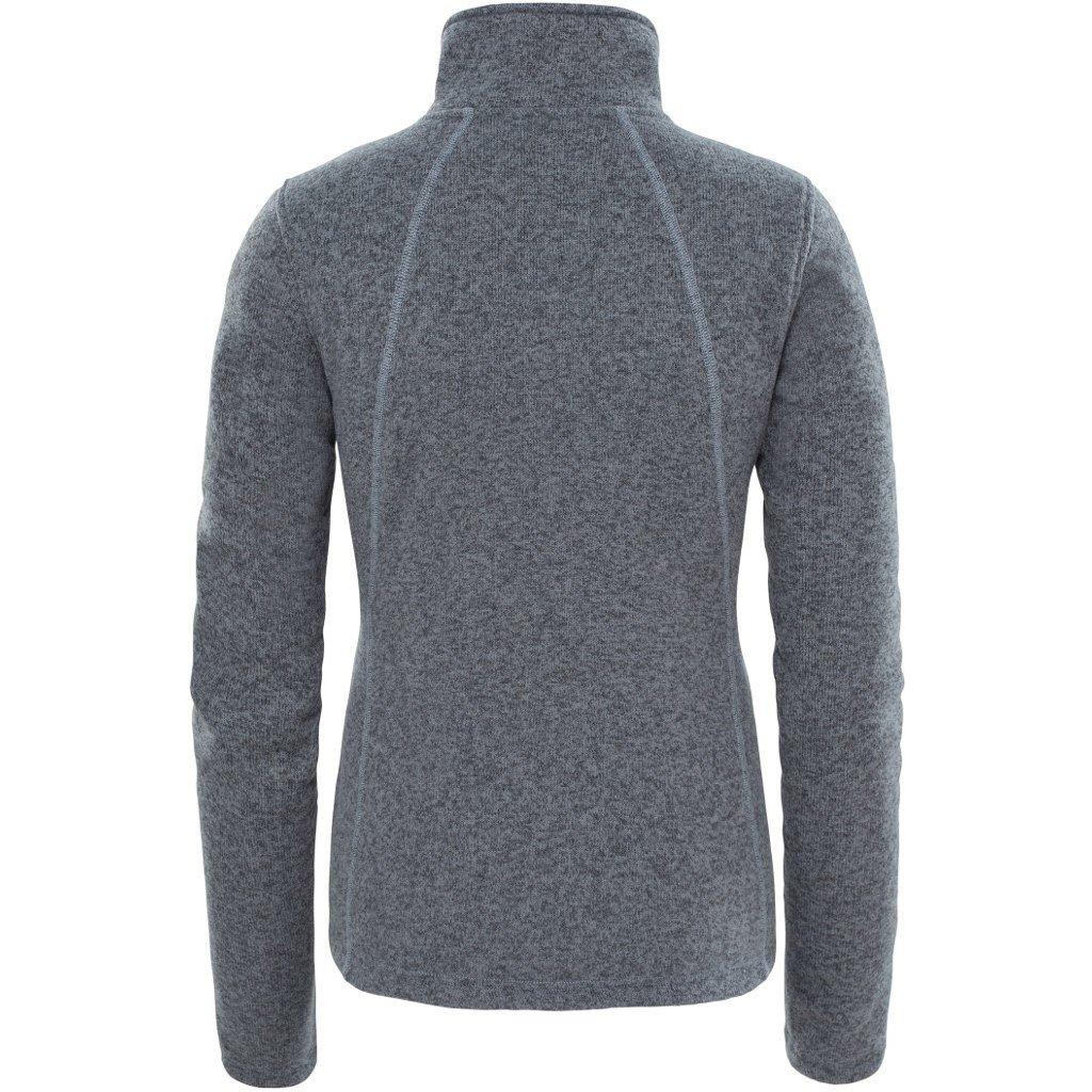 new product e4a2b 836e3 THE NORTH FACE Crescent Damen Women Pullover Fleece Fleecejacke Grau
