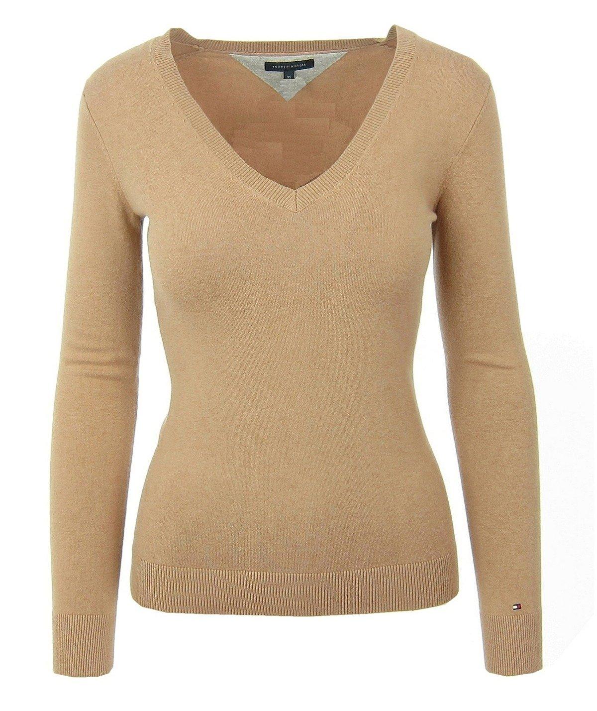 tommy hilfiger damen women pullover sweater strick v neck. Black Bedroom Furniture Sets. Home Design Ideas