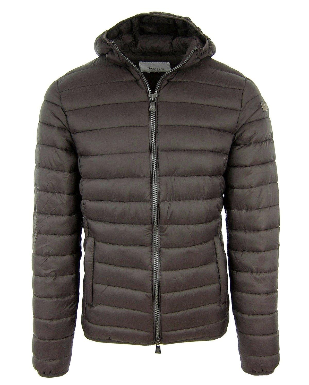 Herren Brown Steppjacke Jacket Jacke Braun Men Trussardi Collection Gavello rBtdQCshx