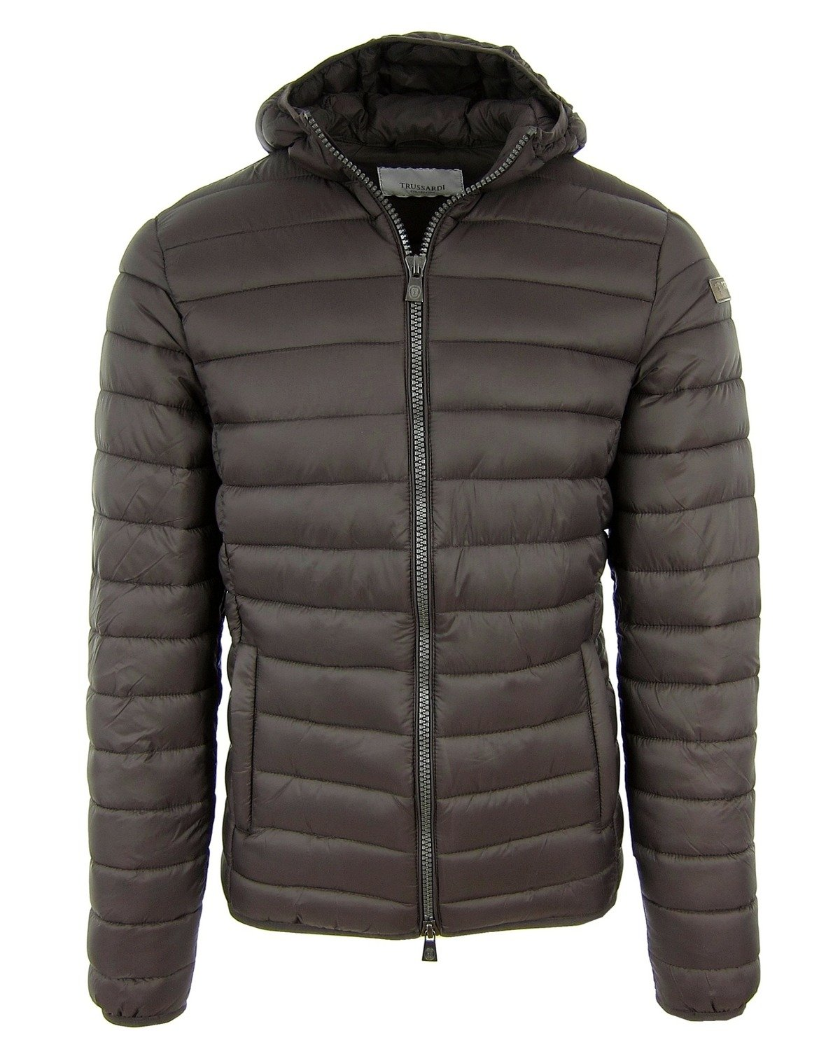 df3b9db6ab56 Click to zoom  TRUSSARDI Collection Gavello Herren Men Steppjacke Jacke Jacket  Braun Brown