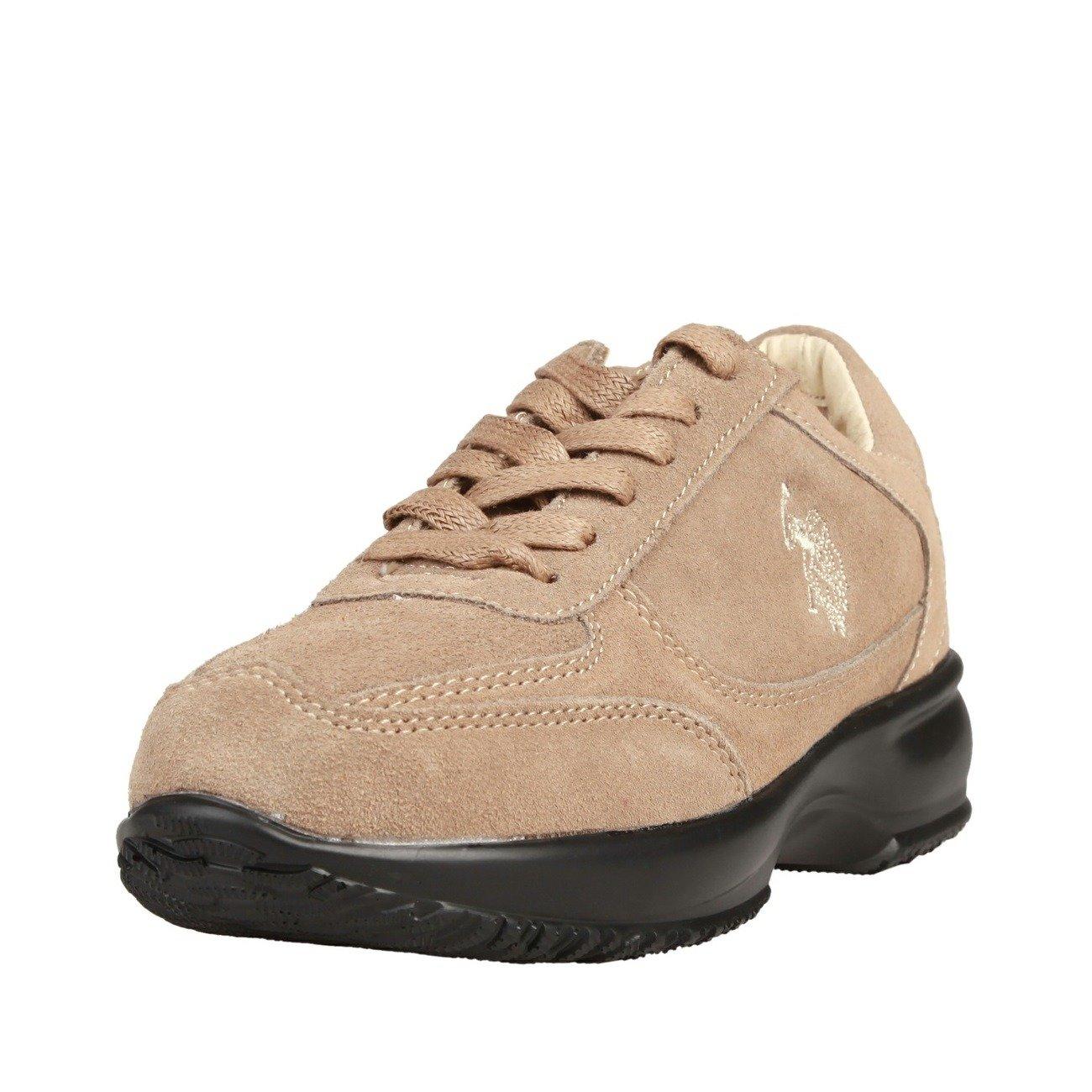 Women sPolo Schuhe Veloursleder U Beige Sneaker Shoes AssnDamen O0wvmnN8y