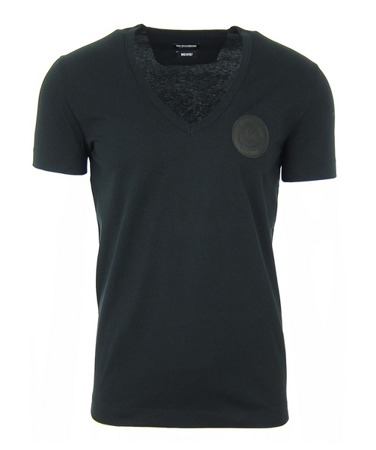 BIKKEMBERGS Sport Couture A704KE2MB028 Herren Men V-Neck T-Shirt Made in Italy