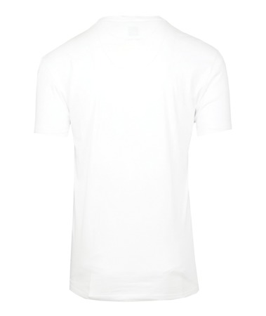 CALVIN KLEIN One Square Herren Men T-Shirt Kurzarm Logo Weiß White