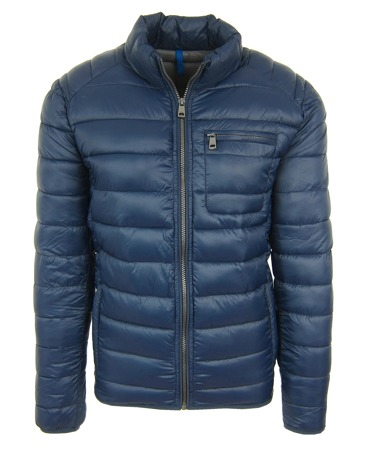 CERRUTI Herren Men Steppjacke Jacke Jacket Dunkelblau Blue Navy-Grey