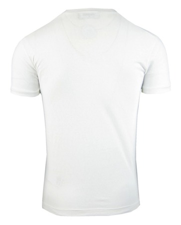 DSQUARED2 S71GD0510 Herren Men T-Shirt Kurzarm Weiß White Made in Italy