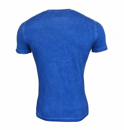 DSQUARED2 S74GD0046 Herren Men T-Shirt Kurzarm Blau Blue Made in Italy