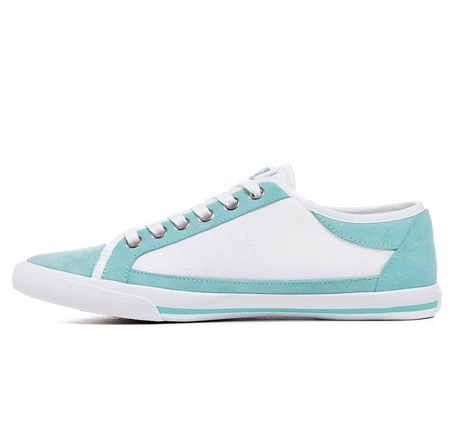 EMPORIO ARMANI EA7 5P299 New Joy W Damen Women Sneaker Schuhe Shoes Mintgrün