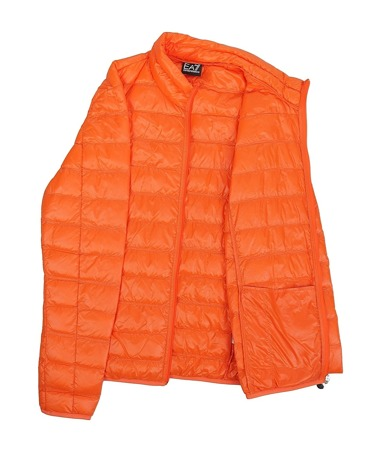 EMPORIO ARMANI EA7 Herren Men Daunen Down Jacke Jacket Orange