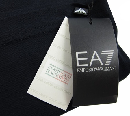 EMPORIO ARMANI EA7 Herren Men T-Shirt Dunkelblau Navy Miami Tropical Florida