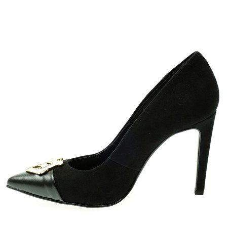 LOVE MOSCHINO JA1004AC90IA200A Damen Women Stöckel Schuhe Shoes High Heels Black