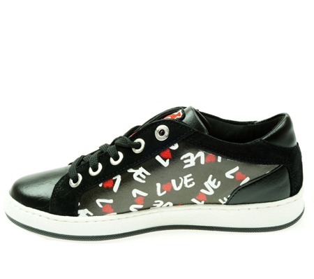 LOVE MOSCHINO JA15013G90ID0000 Lovehearts Damen Women Schuhe Shoes Sneaker