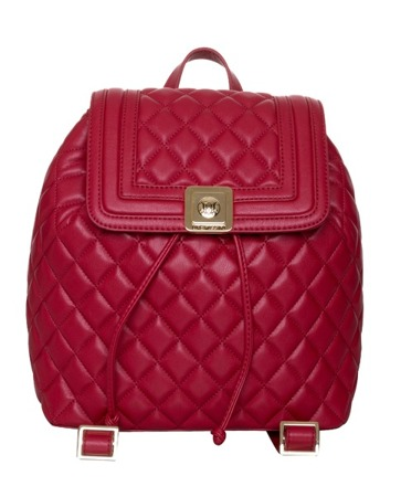 LOVE MOSCHINO JC4006 Damen Women Beuteltasche Rucksack Backpack Rot Red Neu New