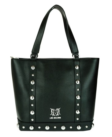LOVE MOSCHINO JC4064PP11LF100A Damen Women Shopper Bag Tasche Schwarz Black