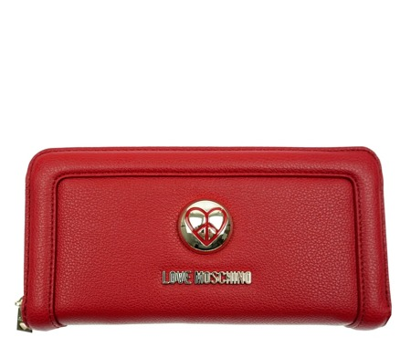 LOVE MOSCHINO JC5531PP02KJ0514 Damen Women Portemonnaie Geldbörse Wallet Rot Red