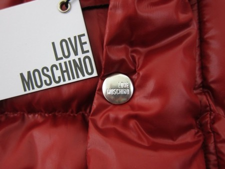 LOVE MOSCHINO MH64500T7989 P47 Herren Men Jacke Jacket Winter Warm Rot Red Uomo