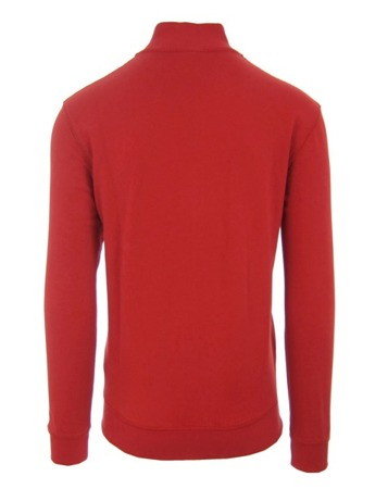 NAPAPIJRI Bight N0YCJF094 Old Red Herren Men Sweatshirt Pullover Rot Logo Flage