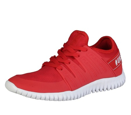 "PLEIN SPORT Runner ""Robinson"" Herren Men Schuhe Shoes Sneaker Rot Red"