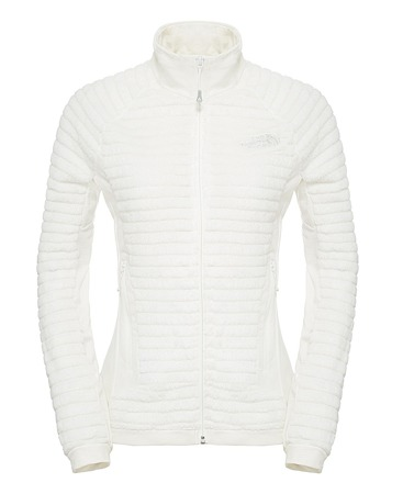 THE NORTH FACE Radium Damen Women Funktionsjacke Fleecejacke Weiß White HI-Loft